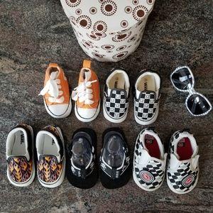 5 PAIRS! Stylish Baby Crib Shoes.